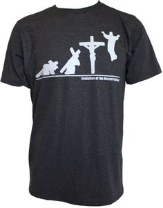 Evolution of Resurrection Christian T-Shirt - $17 | ToolsForChrist.com #Christianshirt