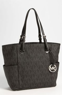 MICHAEL Michael Kors Signature Tote available at #Nordstrom I want this sooooo bad love.thegoodbags.com Michael Kors Outlet !Most bags are under $61.99 !THIS OH MY GOD ~