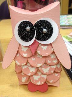 Owl Gift Card Holder - Scrapbook.com