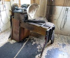 great home-made bowl lathe