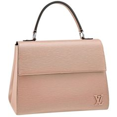 Pre-owned Louis Vuitton Cluny Mm Beige Satchel ($2,895) ❤ liked on Polyvore featuring bags, handbags, beige, louis vuitton bags, louis vuitton purses, cowhide handbags, pre owned purses and handbag satchel
