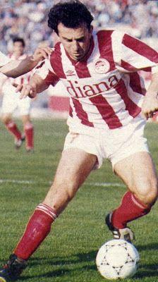 Σαββίδης Ηλίας. Σέρρες. (1967). Μέσος. Από το 1988-1994. (98 συμμετοχές 12 goals). Passion, Football, Sports, Red, Fictional Characters, Greek, Soccer, Hs Sports, American Football