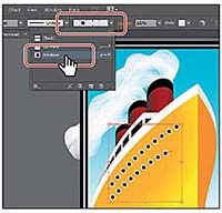 In Adobe Illustrator CC, there are hundreds of interesting Pattern brushes that you can choose from when creating your own projects, from grass to cityscapes. This excerpt shows you how to apply an existing Pattern brush to a path.
