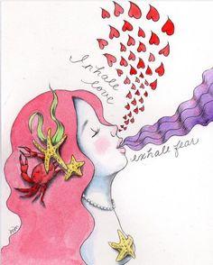 Inspiriamo amore, espiriamo paura #yoga #meditazione #keepcalm