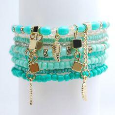 Charm Bohemian Bracelets for Women //Price: $62.45 & FREE Shipping //   Coupon Code 10% : Pin1001  #BestBuyCoupons