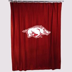 NCAA Arkansas Shower Curtain