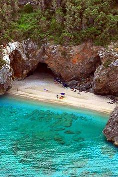 Mylopotamos beach, Pelion, Crete is exotic chrystal water of unique beauty Places Around The World, Oh The Places You'll Go, Places To Travel, Places To Visit, Around The Worlds, Vacation Destinations, Dream Vacations, Vacation Spots, Santorini