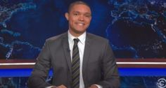 "Trevor Noah: Imagine if Repubs used their 'pro-life passion' against the NRA and not Planned Parenthood-- ""Pro-lifers are like comic book collectors.  Human life only has value until you take it out of the package, then, it's worth nothing.""  He is pretty good."