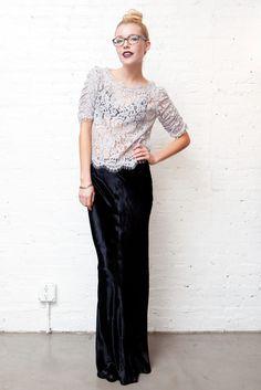 Velvet Maxi Skirt; T By Alexander Wang, I want, I NEED!