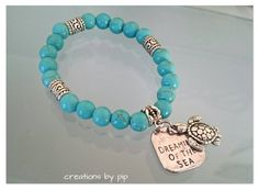 Check out this item in my Etsy shop https://www.etsy.com/uk/listing/243531968/blue-turquoise-beaded-bracelet-with