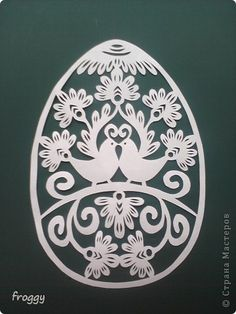 Paper cutting for Easter