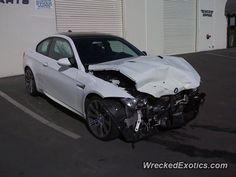 BMW M-Series M3 E90 crashed in San Diego, California