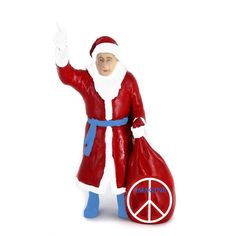 santa putin peace to every home  very very new one of exclusive figurines from russia