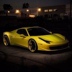 Pure awesomeness with a Ferrari 458 Italia!
