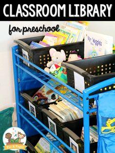 Preschool Classroom Library Center
