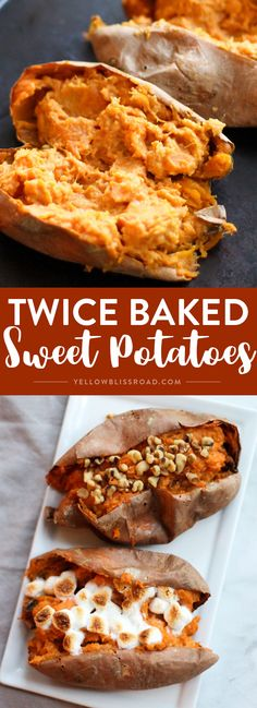 Creamy Twice Baked Sweet Potatoes Will Make Your Thanksgiving Complete. Perfect … Creamy Twice Baked Sweet Potatoes Will Make Your Thanksgiving Complete. Thanksgiving Side Dishes, Thanksgiving Recipes, Fall Recipes, Holiday Recipes, Great Recipes, Favorite Recipes, Dinner Recipes, Holiday Foods, Top Recipes