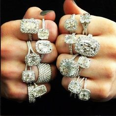 Diamonds. I'll take one of each. Waterfall Jewelers White Lake and Waterford Michigan.