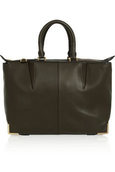 Alexander Wang Prisma Skeletal leather tote | THE OUTNET