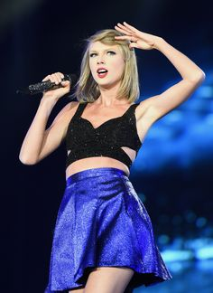 Taylor performing at Rock in Rio 5.15.15