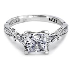 Engagement rings by Tacori feature the iconic crescent design. Each engagement ring is expertly handcrafted by our artisans in California and are custom made for your Tacori Girl. The details in a Tacori ring create stunning beauty from every angle. Tacori Engagement Rings, Vintage Engagement Rings, Tacori Rings, Tacori Jewelry, Vintage Rings, Princess Cut Rings, Princess Cut Diamonds, Thing 1, To Infinity And Beyond