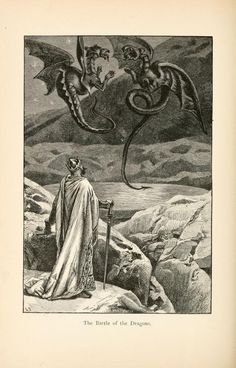 From The Boy's Mabinogion, illustrated by Alfred Fredericks
