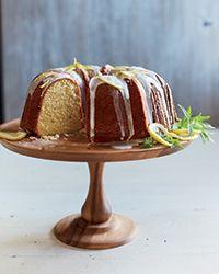 Buttermilk Bundt Cake with Lemon Glaze Recipe