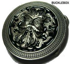 Belt Buckle | GREEN MAN - CELTIC Belt Buckle + display stand