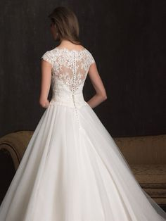 Back of the dress