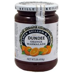 Dundee Orange Marmalade - love the rinds in there ❤