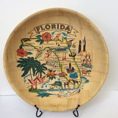 A personal favorite from my Etsy shop https://www.etsy.com/listing/220786690/vintage-bamboo-kitschy-florida-souvenir