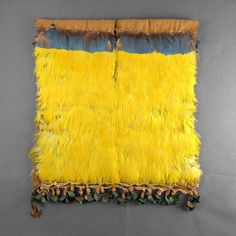 Feather coat from the Chimú culture of what is today Peru, 10th to 16th century
