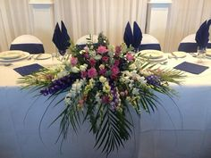 Top table dressing by Grand Design weddings and events