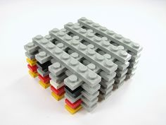 A simple solution to a minor problem: How to organize your Lego bricks for efficient building. Evil Mad Scientist, Lego Storage, Storage Ideas, Lego For Kids, Lego Blocks, Local Hardware Store, Lego Pieces, Lego Building, Craft Tutorials