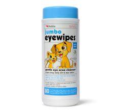 Petkin Jumbo Eye Wipes For Dog   http://www.dogspot.in/shop/