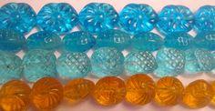 Clearance Mixed Glass Beads lot 100 beads Jewelry Making (LotB)