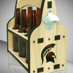Beer caddy Spartan Inspired