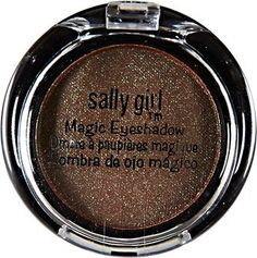 Sally Girl Mini Magic Eyeshadow Now You See Me - reddish brown with a very subtle copper flash (Mac Club)