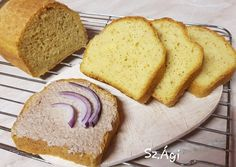 (4) Kukoricalisztes kenyér | Szép Ágnes receptjeCookpad receptek Gluten Free Recipes, Bread Recipes, Vegetarian Recipes, Healthy Recipes, Sin Gluten, Ring Cake, Garlic Bread, Free Food, Kenya