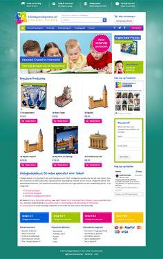 Uitdagendspelen.nl is de website van Nederland voor uitdagend speelgoed voor (hoog)begaafde kinderen. Pronamic ontwikkelde de nieuwe #WordPress website en webwinkel.  http://pronamic.nl/portfolio/uitdagendspelen-nl/