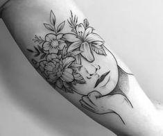 42 Fashionable Arm Tatoo Ideas for Woman In 2019 - Page 14 of 42 - PinningFashionPinningFashion Bicep Tattoo Women, Inner Forearm Tattoo, Small Forearm Tattoos, Head Tattoos, Body Art Tattoos, Sleeve Tattoos, Tatoos, Inner Arm Tattoos, Small Tattoo