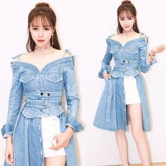 Kobiety jeans denim dress 2017 vintage sexy slash neck off shoulder flare dress Wysoka talia z długim rękawem kolan denim vestidos