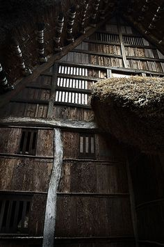 Farmhouse wall by jeremiah, via Flickr