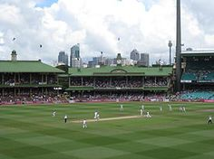Sydney Cricket Ground - this where the D'Backs and Dodgers will play in March they're turning it into a baseball field for a few days. Sydney Cricket Ground, Sports Stadium, Play N Go, Tv App, Sydney Australia, Baseball Field, Trip Planning, Around The Worlds, Tours