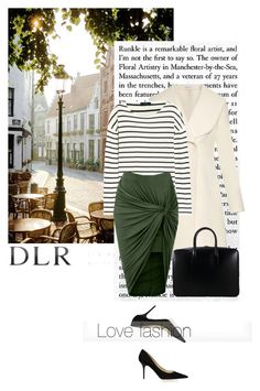"""""""DLR"""" by mell-2405 ❤ liked on Polyvore featuring moda, Jimmy Choo, J.W. Anderson, Yves Saint Laurent, J.Crew, LE3NO e dlr"""