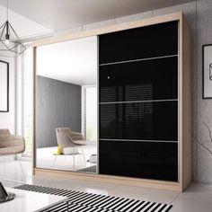 3 Door Sliding Wardrobe, 4 Door Wardrobe, Wardrobes With Sliding Doors, Glass Wardrobe, Wardrobe Lighting, Laundry Shelves, Homestead Living, Wardrobe Design, Modern Wardrobe