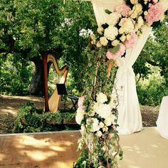 Tuscan Wedding#weddingsintuscany#weddingsinitaly#montepulcianoweddings#floralweddingarches#realweddingsitaly