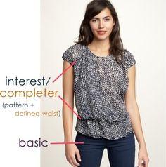Fashion Formula: How to Put Outfits Together | Mommy Blogs @ JustMommies Mommy Blogs @ JustMommies