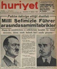 Bahagian V: Turki tanpa Ataturk – era Perang Dunia Kedua Newspaper Headlines, Old Newspaper, Republic Of Turkey, The Republic, Turkey History, Turkey Country, Newspaper Archives, Somali, Historical Pictures
