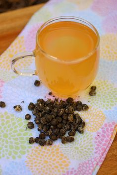 Jasmine pearls create a lovely floral flavor with your brew. We like it so much we rarely second ferment it!