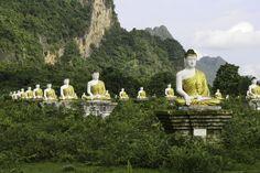 1000 buddhas by Mucki Nowak on 500px - Hpa An, Myanmar